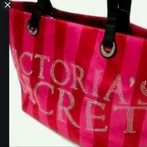 NWT Victoria's Secret Holiday 2011 Large Tote Bag